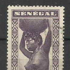 Timbres: FRANCIA COLONIAS-USADO - SENEGAL 1937. Lote 135427662