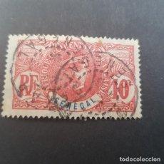 Selos: SENEGAL COLONIA FRANCESA 1906 GENERAL LOUIS FAIDHERBE SCOTT 61 YVERT 34, MATASELLO DAKAR ,(LOTE AG). Lote 156715010