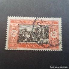 Sellos: SENEGAL COLONIA FRANCESA 1922 SENEGALESAS COCINANDO SCOTT 92 YVERT 55, USADO ,(LOTE AG). Lote 156716454