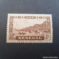Sellos: SENEGAL COLONIA FRANCESA 1935 PUENTE FAIDHERBE SCOTT 143** YVERT 115**,NUEVO SIN FIJASELLO,(LOTE AG). Lote 156721834