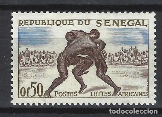 SENEGAL 1961 - DEPORTES - SELLO NUEVO ** (Sellos - Extranjero - África - Senegal)
