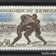 Sellos: SENEGAL 1961 - DEPORTES - SELLO NUEVO **. Lote 172445468