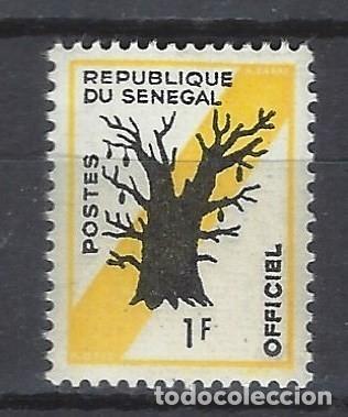 SENEGAL 1963 - ÁRBOLES - SELLO NUEVO ** (Sellos - Extranjero - África - Senegal)