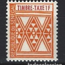 Sellos: SENEGAL 1961 - SELLO TAXA - SELLO NUEVO **. Lote 209919801