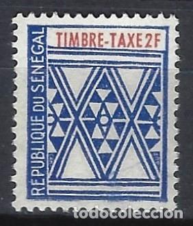 SENEGAL 1961 - SELLO TAXA - SELLO NUEVO ** (Sellos - Extranjero - África - Senegal)