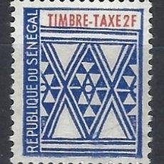 Sellos: SENEGAL 1961 - SELLO TAXA - SELLO NUEVO **. Lote 209919841