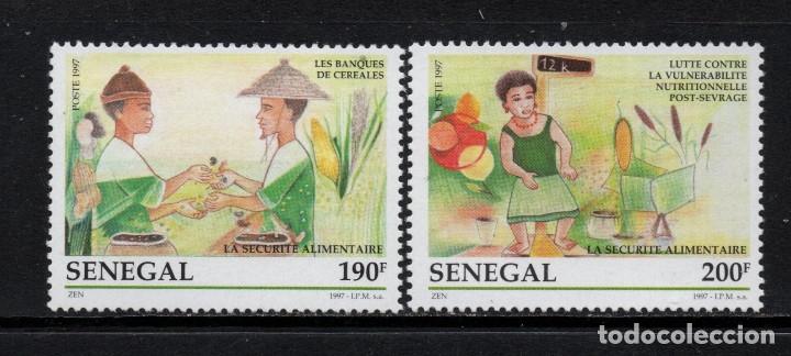SENEGAL 1253/54** - AÑO 1997 - SEGURIDAD ALIMENTARIA (Sellos - Extranjero - África - Senegal)