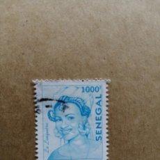 Sellos: SENEGAL - VALOR FACIAL 1000 F. AÑO 2002 - LA LINGUERE - MODA UDIAYE. Lote 194235416