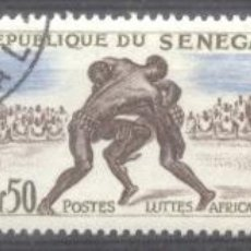 Sellos: SENEGAL 1961 SPORT, USED AE.268. Lote 198276820