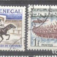 Sellos: SENEGAL 1961 SPORT, USED AE.269. Lote 198276911
