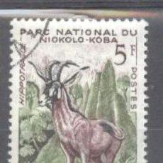 Sellos: SENEGAL 1960 ANIMALS, USED AE.267. Lote 198277183