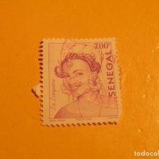 Sellos: SENEGAL - LA LINQUERE - MUJER.. Lote 200316102