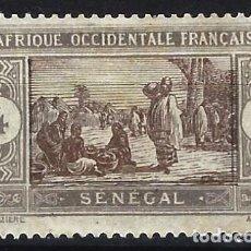 Selos: SENEGAL 1914 - MERCADO - MH*. Lote 215931336