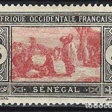 Selos: SENEGAL 1922-26 - MERCADO - MH*. Lote 215933897