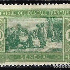 Francobolli: SENEGAL 1922-26 - MERCADO - MH*. Lote 215934298