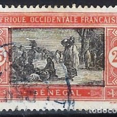 Timbres: SENEGAL 1922-26 - MERCADO - USADO. Lote 215934732