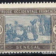 Francobolli: SENEGAL 1922-26 - MERCADO - MNH**. Lote 215935598