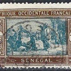 Selos: SENEGAL 1926-33 - MERCADO - USADO. Lote 215938865