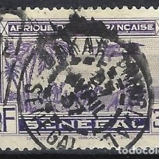 Selos: SENEGAL 1935 - AVIÓN SOBRE CARABANA, AÉREO - USADO. Lote 215941712