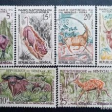 Sellos: SELLO POSTAL DE SENEGAL 1960 FAUNA DEL PARQUE NACIONAL DE NIOKOLO - KOBA. Lote 219965022