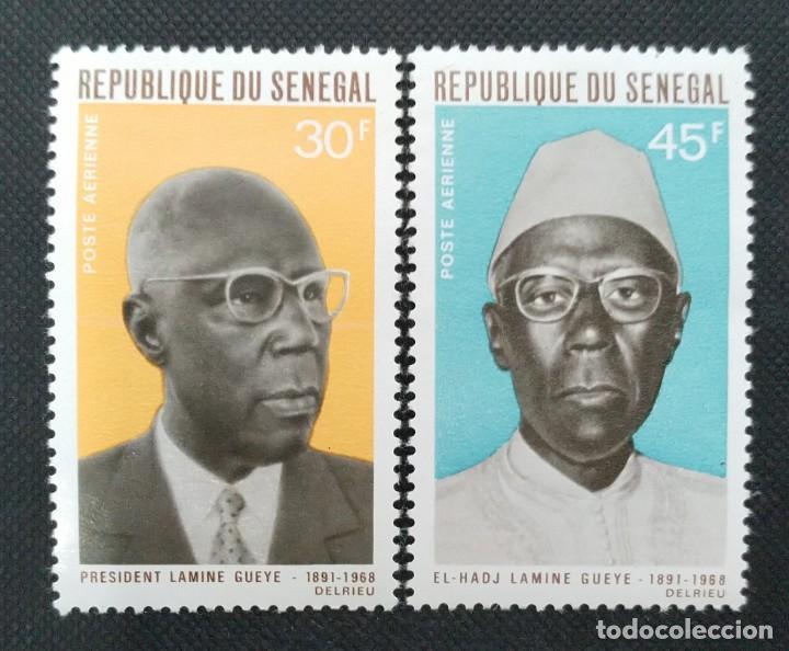 Sellos: SELLOS POSTALES DE SENEGAL 1969 Facultad de medicina, Aniversario OIT, Escudos, Amadou Lamine Gueye - Foto 5 - 219983692