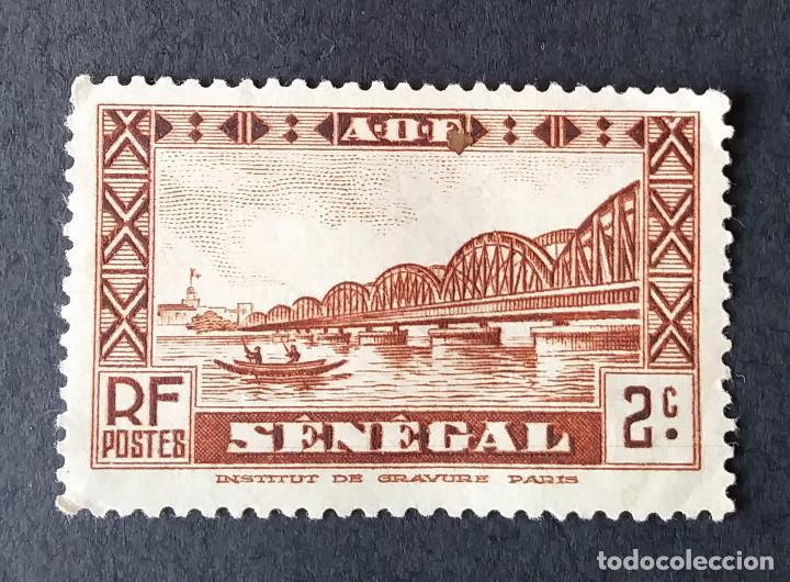 1935-1940 SENEGAL PUENTE FAIDHERBE (Sellos - Extranjero - África - Senegal)