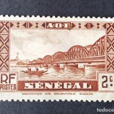 Sellos: 1935-1940 SENEGAL PUENTE FAIDHERBE. Lote 221313065