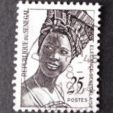 Sellos: 1972 SENEGAL ELEGANCIA SENEGALESA. Lote 221313196