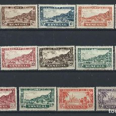Timbres: SÉNÉGAL N°114/26** (MNH) 1935. Lote 231949730