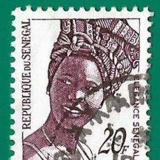 Timbres: SENEGAL. 1982. MODA SENEGALESA. Lote 236790995