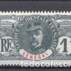Sellos: SENEGAL, 1906, Y/T 30, NUEVO. Lote 240049305