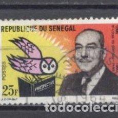 Sellos: SENEGAL, 1963, Y/T 232, USADO. Lote 240053875
