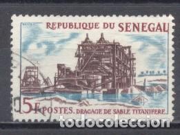 SENEGAL, 1964, Y/T 235, USADO (Sellos - Extranjero - África - Senegal)