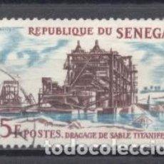 Sellos: SENEGAL, 1964, Y/T 235, USADO. Lote 240054300