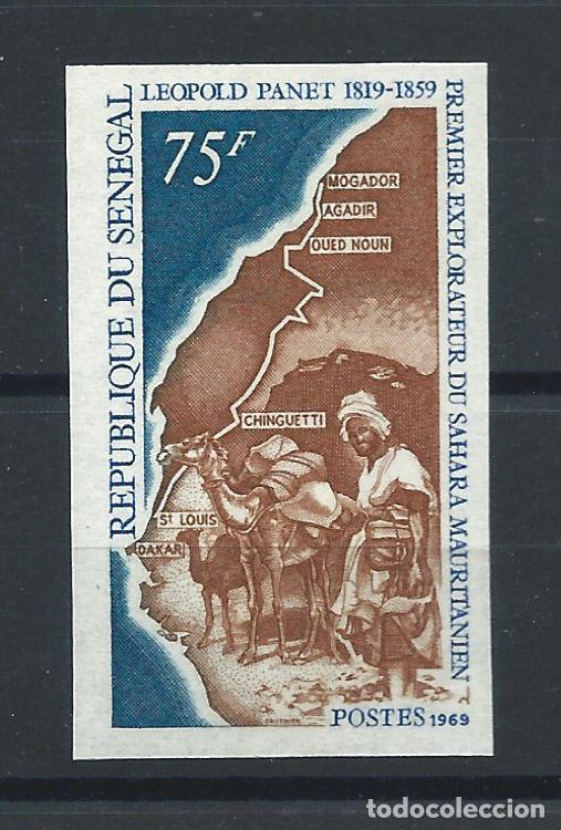 "SÉNÉGAL N°317** (MNH) 1969 N. DENTELÉ - EXPLORATEUR ""LÉOPOLD PANET"" (Sellos - Extranjero - África - Senegal)"