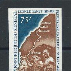 "Sellos: SÉNÉGAL N°317** (MNH) 1969 N. DENTELÉ - EXPLORATEUR ""LÉOPOLD PANET"". Lote 243115605"
