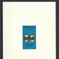 "Sellos: SÉNÉGAL ÉPREUVE DE LUXE DU N°230 NEUF** (MNH) 1963 - PAPILLON ""JUNONIA HIERTA"". Lote 243118950"