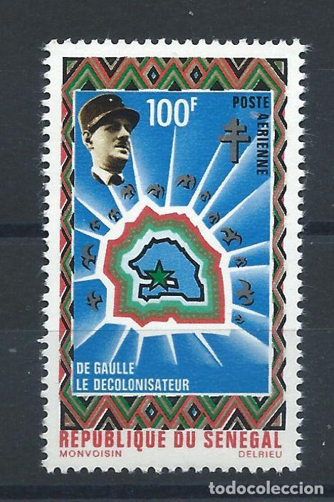SÉNÉGAL PA N°99** (MNH) 1971 - DE GAULLE LE DÉCOLONISATEUR (Sellos - Extranjero - África - Senegal)