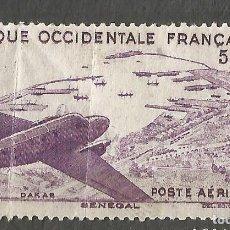 Sellos: AFRIQUE OCCIDENTALE FRANÇAISE RF - SENEGAL - POSTE AÉRIENNE -1 SELLO NUEVO. Lote 254701365