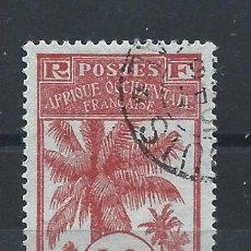 Sellos: SÉNÉGAL N°40 OBL(FU) 1906/7 - PALMIERS. Lote 262988235