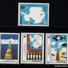 Sellos: SENEGAL 997/1000** - AÑO 1992 - AÑO MUNDIAL DEL PATRIMONIO MARÍTIMO. Lote 263559780