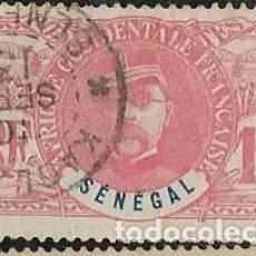 Sellos: SENEGAL FRANCÉS YVERT 34. Lote 278219833