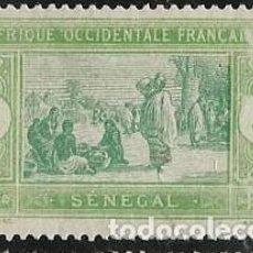 Sellos: SENEGAL FRANCÉS YVERT 56 NUEVO CON GOMA. Lote 278220288