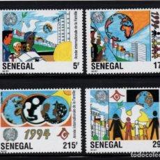 Sellos: SENEGAL 1086/89** - AÑO 1994 - AÑO INTERNACIONAL DE LA FAMILIA. Lote 286877378