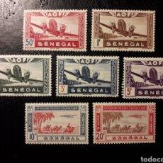 Sellos: SENEGAL YVERT A-22/8 SERIE CORTA MAYORÍA NUEVA CON CHARNELA 1942 AVIONES PEDIDO MÍNIMO 3 €. Lote 294118578