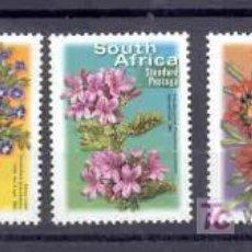 Sellos: SUDAFRICA.- SERIE BASICA. FLORES Y PLANTAS. Lote 5229008