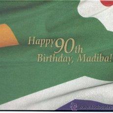Sellos: SUDAFRICA 2008. 90 CUMPLEAÑOS DE NELSON MADELA MONTADO EN ALBUM DE TIRADA LIMITADA.. Lote 26968917