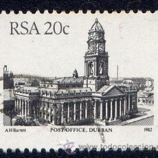 Sellos: SELLO DE SUDAFRICA - 1982 - OFICINA POSTAL DE DURBAN - USADO. Lote 30525254