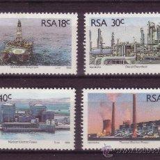Sellos: SUDAFRICA 702/05*** - AÑO 1989 - RECURSOS ENERGETICOS SUDAFRICANOS. Lote 34474502