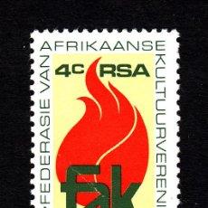 Sellos: SUDAFRICA 473** - AÑO 1979 - 50º ANIVERSARIO DE LAS ASOCIACIONES CULTURALES AFRIKANERS. Lote 44682275